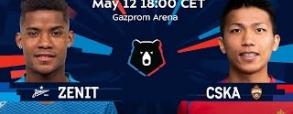 Zenit St. Petersburg 3:1 CSKA Moskwa