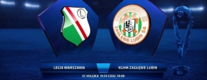 Legia Warszawa 2:2 Zagłębie Lubin