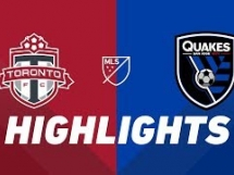 Toronto FC 1:2 San Jose Earthquakes