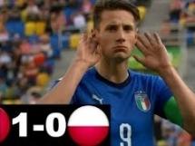 Włochy U20 1:0 Polska U20