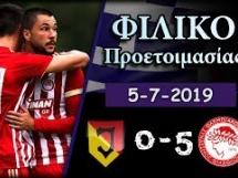 Jagiellonia Białystok 0:5 Olympiakos Pireus