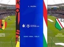 Korona Kielce 1:2 Legia Warszawa
