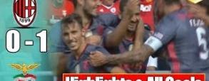 AC Milan 0:1 Benfica Lizbona