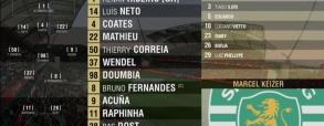 Benfica Lizbona 5:0 Sporting Lizbona