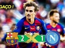Napoli 1:2 FC Barcelona