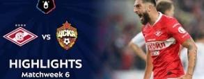 Spartak Moskwa 2:1 CSKA Moskwa