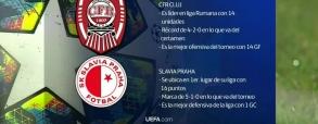 CFR Cluj 0:1 Slavia Praga