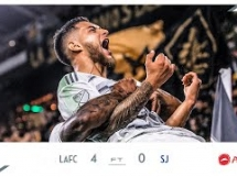Los Angeles FC 4:0 San Jose Earthquakes