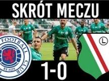 Rangers 1:0 Legia Warszawa
