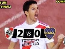 River Plate 2:0 Boca Juniors