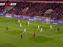 Norwegia 1:1 Hiszpania