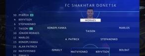 Szachtar Donieck 2:2 Dinamo Zagrzeb
