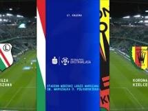 Legia Warszawa 4:0 Korona Kielce
