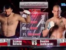 Damian Janikowski 0:1 Szymon Kołecki