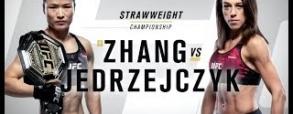 Joanna Jedrzejczyk 0:1 Weili Zhang