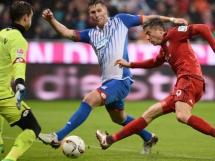 Dwie bramki Lewandowskiego w meczu z Hoffenheim!
