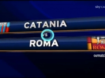 Catania 4:1 AS Roma