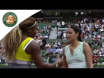 Serena Williams 2:0 Alize Lim