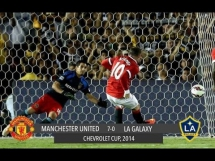 Los Angeles Galaxy 0:7 Manchester United