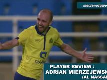 Adrian Mierzejewski w meczu Al-Nassar.