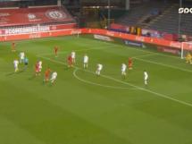 Fantastyczna bramka Youri Tielemans! Trafienie na 1:0 w meczu Belgii z Danią