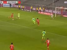 Lewandowski strzela na 2:1! Bayern prowadzi z Wolfsburgiem