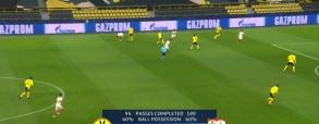 Haaland strzela bramkę w meczu z Sevillą! Borussia Dortmund prowadzi 1:0 [WIDEO]