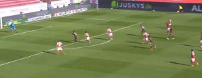 Gol Lewandowskiego w meczu z Mainz! 36. trafienie Polaka w tym sezonie Bundesligi [WIDEO]