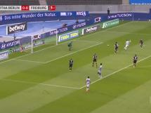 Krzysztof Piątek strzela w meczu z Freiburgiem! Bramka Polaka na 1:0 [WIDEO]