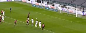 Wojciech Szczęsny obronił rzut karny w meczu z AC Milanem! Perfekcyjna interwencja Polaka [WIDEO]