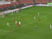 N'Golo Kante strzela zwycięską bramkę! Portugalia przegrywa z Francją