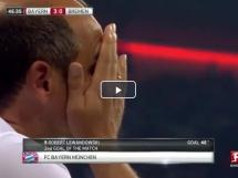 Lewandowski strzela karnego!