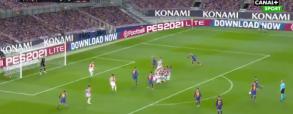 Messi trafia z rzutu wolnego! Niesamowite uderzenie w meczu z Athletic Bilbao [WIDEO]