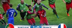 Portugalia 1:0 Francja
