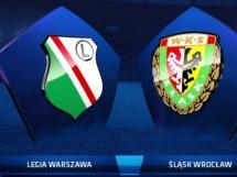 Legia Warszawa - Śląsk Wrocław 1:0