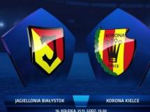 Jagiellonia Białystok - Korona Kielce 1:0