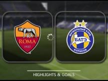 AS Roma 0:0 BATE Borysów
