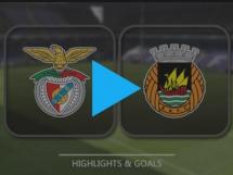Benfica Lizbona 3:1 Rio Ave