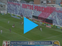 Rayo Vallecano 2:2 Real Sociedad