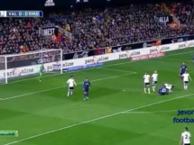 Valencia CF 2:2 Real Madryt