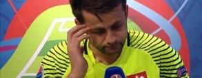 Fabiański ze łzami w oczach po meczu z Portugalią!