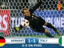 Niemcy 1:1 Włochy