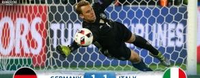Niemcy 1:1 (6:5) Włochy