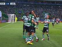 Sporting Lizbona 2:0 Legia Warszawa