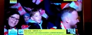 Kibice po meczu obrażają TVN
