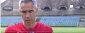 Szybka reakcja Paulo Sousy podczas wywiadu telewizyjnego