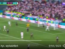 Krytykowany Morata znów daje prowadzenie Hiszpanii! Ależ bramka!