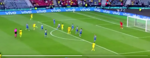 Forsberg z czwartym golem na EURO! Szwecja wyrównuje stan meczu!