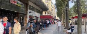 Ogromna kolejka przed sklepem PSG. Cel? Koszulka Messiego!