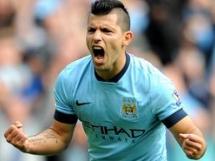 5 goli Aguero w 20 minut w meczu z Newcastle